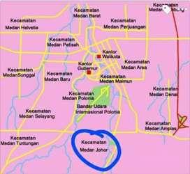 Tanah Strategis Murah Kota Medan