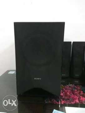 Black 5.1 Multimedia Speakers And DVD Player