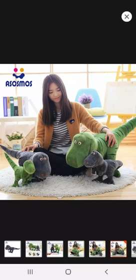 Ready stock boneka dinosaurus import