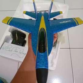 Pesawat Terbang Jet RC FX828 Glider F18 toko BudiThinWing