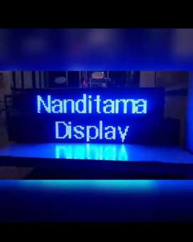 ^running text led.display