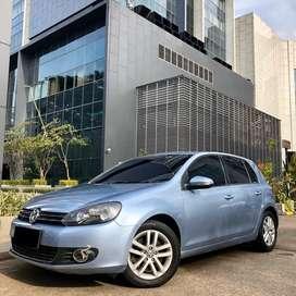 VW GOLF 1.4 TSi 2011/2012 MK6 BLUE ON BLACK