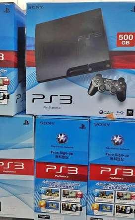 PS3 Slim HDD 120- 500GB