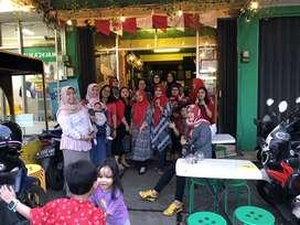 Take over mural usaha Café Resto Franchise Pasta Kangen