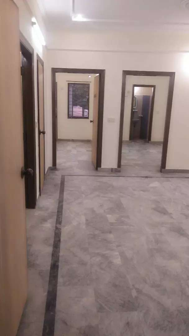 5 Marla 1st floor portion 2 bedroom attached bath TV launch marble 0