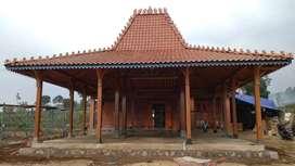 Bangunan Pendopo Joglo dan Rumah Kayu Jati Joglo Gebyok Ukir Jepara