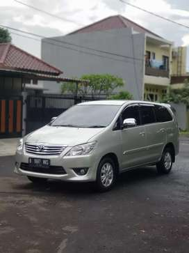 Toyota Kijang Grand Innova G AT Diesel 2012 Cash Credit
