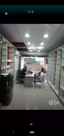 Shop for rent in samdariya center point block A ,Saman rewa