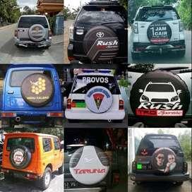 Cover/Sarung Ban Suzuki Vitara/Rush/Terios/Jeep Sendiri KUalitas Dunia