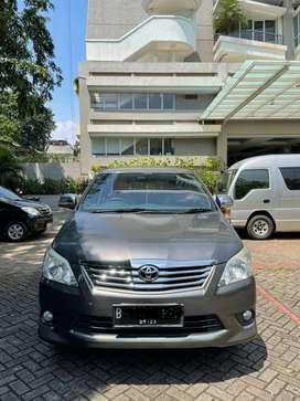 Toyota Innova 2.0 tipe G Lux Luxury Bensin MT Manual 2013