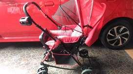 Stroller rocking merk baby does