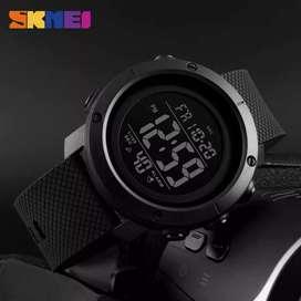 Jam tangan Digital SKMEI Simple Black Style
