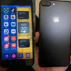 Jual santai iPhone 7 plus 32GB mulus fullset