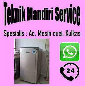 Service Kulkas Frezerboox Ac dan Mesin cuci buntu tidak berputar