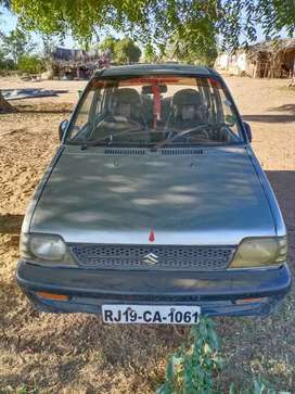 Maruti 800 good condition gas kit lga hua h