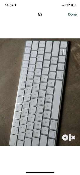 Apple wireless magic keyboard