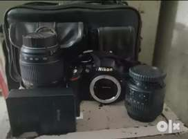 Nikon D3200 Camera with All Accessories