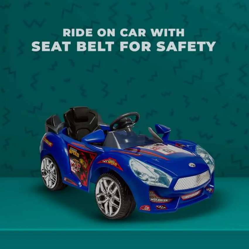All battery operated cars and bikes are available contact us
