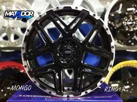 Velg Mobil Racing Elegan R16 SEPULU HSR Ring 16 Lubang 4 Lebar 7 Murah