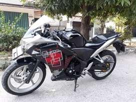 Honda cbr 250 r build up thailand tahun 2012 full prsinil terawat baik