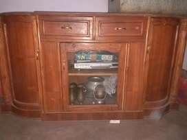 TV stand cum show case