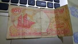 Uang kertas 100 Rp edisi kapal pinisi