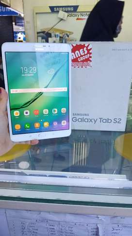 "Samsung tab S2 8"" white ram 3/32 normal jaya slim fullset"