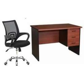 Work from home table and chair