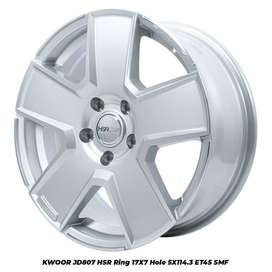 Jual Velg Mobil HSR Kwoor Ring 17 Untuk Mobil Honda Hrv