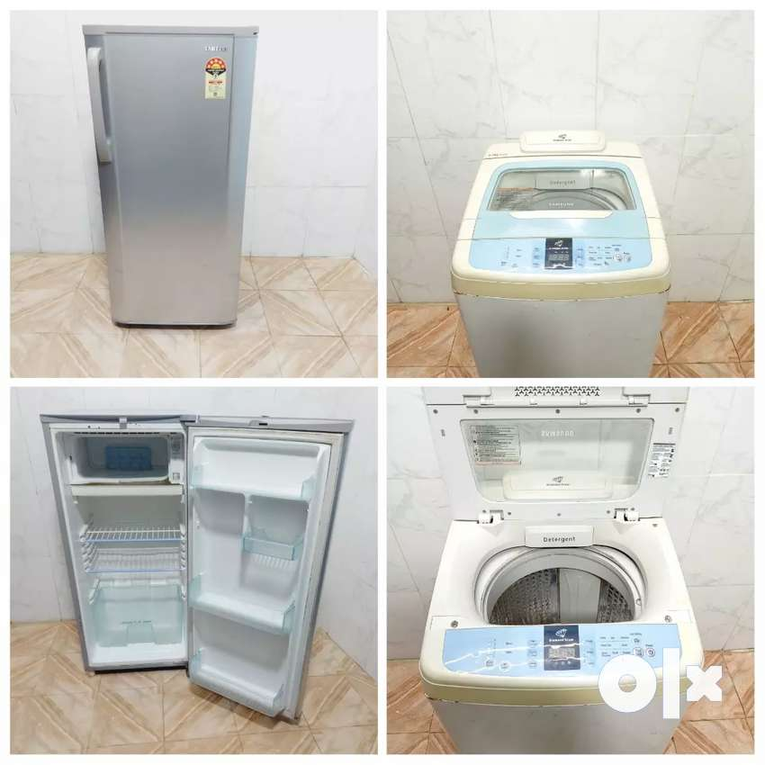 007kuu combo offer Samsung fridge and fully automatic washing machine