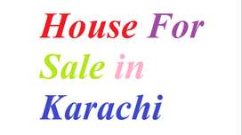 HOUSE FOR SALE AT LIAQUATABAD NO 2 MAIN ROAD nearest  AGHA KHAN LAB