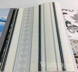 Wallpaper vinyl harga termasuk pasang