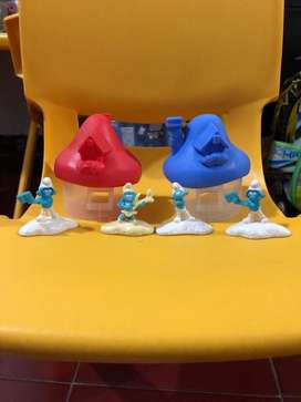 Mainan Smurfs McD