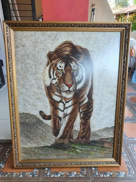 Lukisan / Gambar Harimau