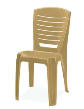 Nilkamal 4025 armless chair- AS NEW