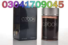 Caboki Hair Fiber your end to make sure that you are leaving no stone