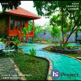 Tanah plus bangunan dengan konsep Villa di Lingsar Lombok barat T491
