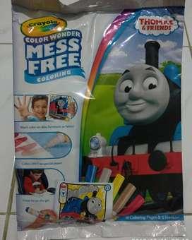 Crayola Frozen dan Thomas