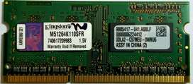 Kingston DDR3 4 GB RAM