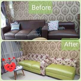 Service sofa / servis sofa, jok, kursi bergaransi