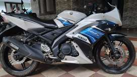 Yamaha R15 showroom condition vehicle