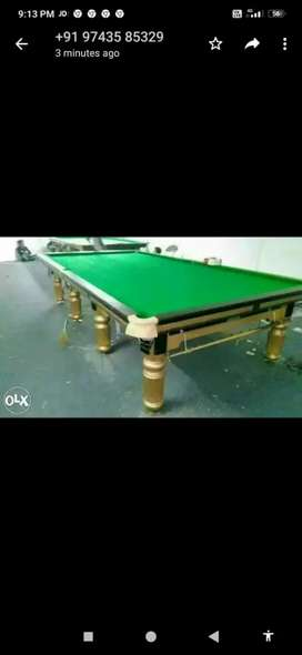 Snooker, Pool and Billiards tables available