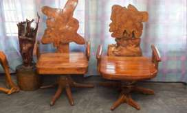 100% Authentic Teak made from Roots