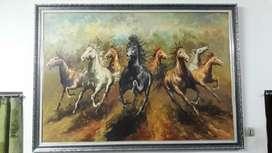 Lukisan Kuda kanvas