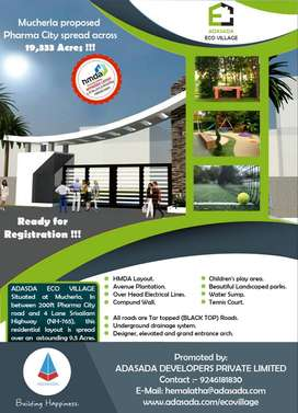 Book A Dream Plot Now  At Mucherla NH-765, Ready To Registration