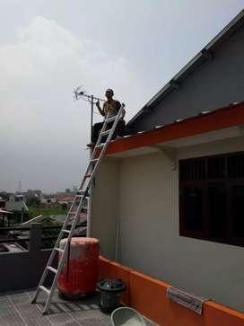 Tempat agen pasang antena tv anti petir tercepat