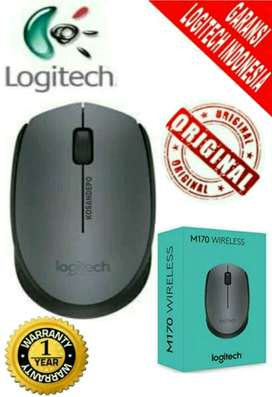 LOGITECH M170 Wireless Mouse Free Battery - Garansi Logitech 1 Tahun