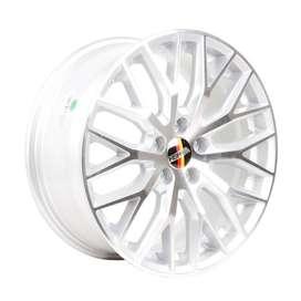 velg HSR-Samadar-H18113-R18X8-H5X112-ET45-Silver-Machine-Face1