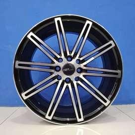 Cicil Velg Mobil Freed Evalia DP 10% Ring 17 HSR Wheel NE4 HX100-114,3