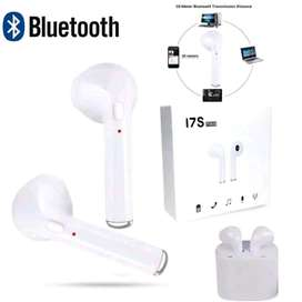 Earpod Bluetooth Headset i7S TWINS Agressive True Q10S HBQ i7 S COMPAC